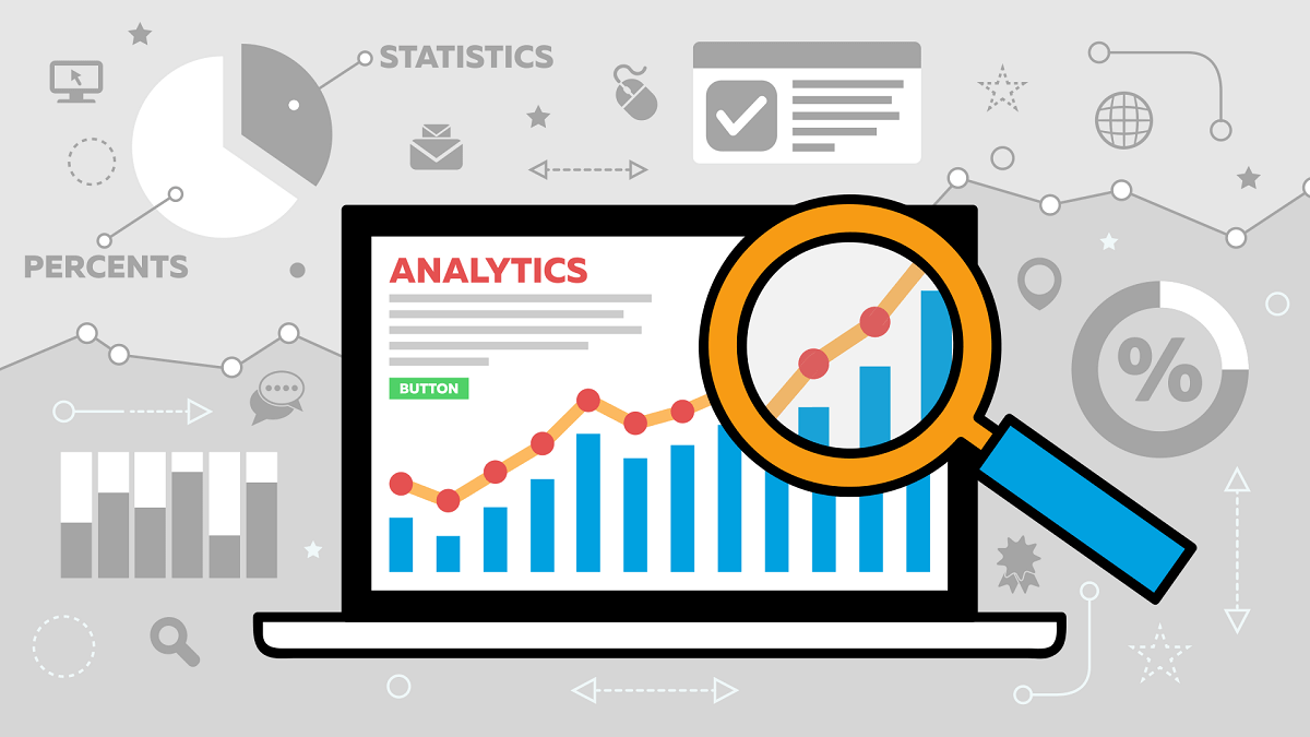 Analytic tools make it easy to measure your website's success.